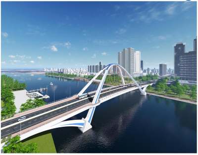 "Can Tho opens bidding package CT3-PW-2.4 ""Construction of Tran Hoang Na Bridge"""